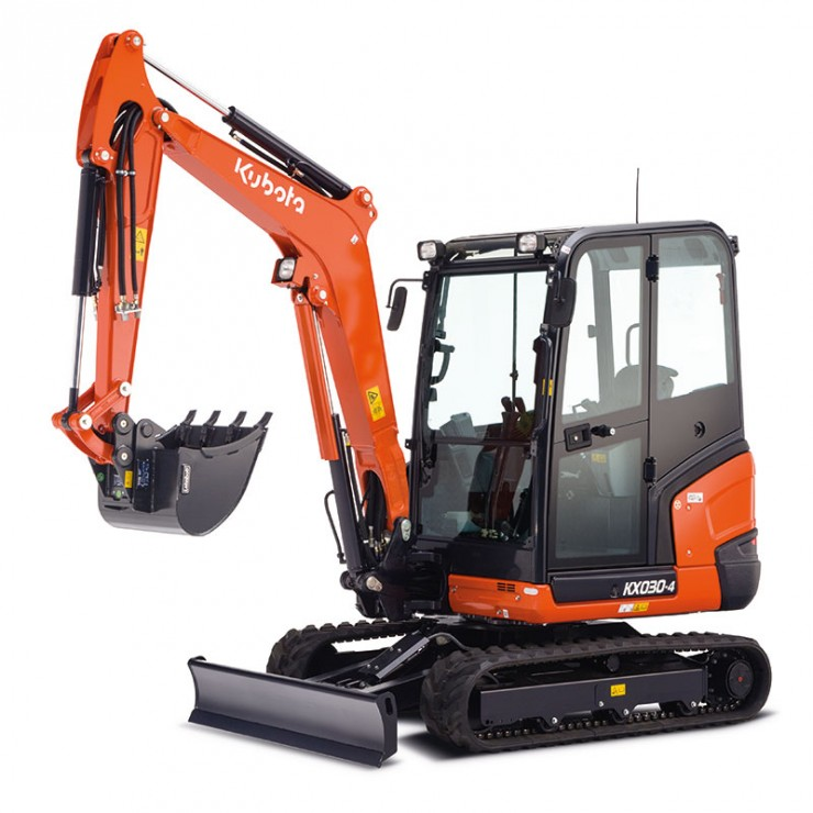 Minirýpadlo KX030-4 2790 kg