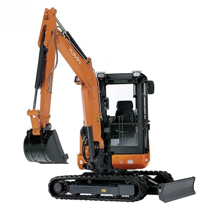 Minirýpadlo KX101-3 3520 kg