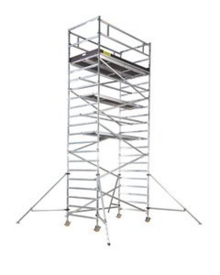 Lešenie pojazdné pôdorys 2,5 m x 1,3 m