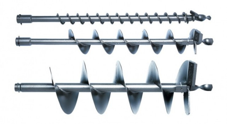 Stĺpikový vrták - nástroj